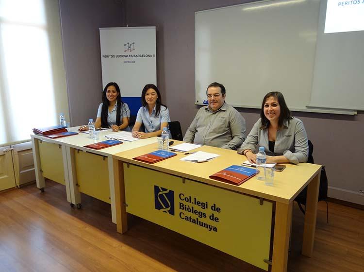 Col·legi Biòlegs de Catalunya i Peritos Judiciales Barcelona