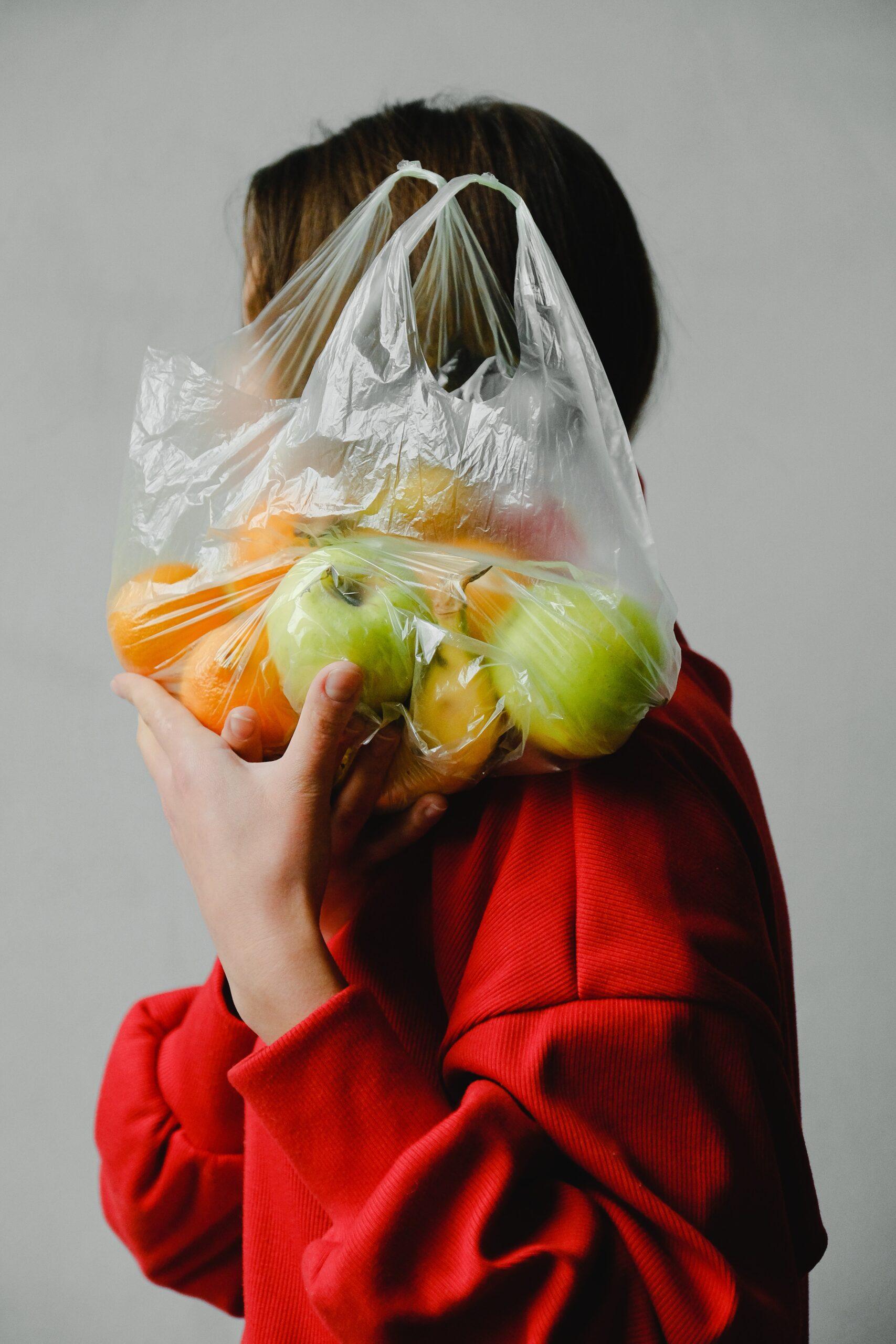 ¿Bolsa de plástico para los plátanos?